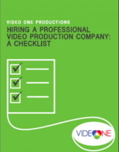 chicago video production checklist