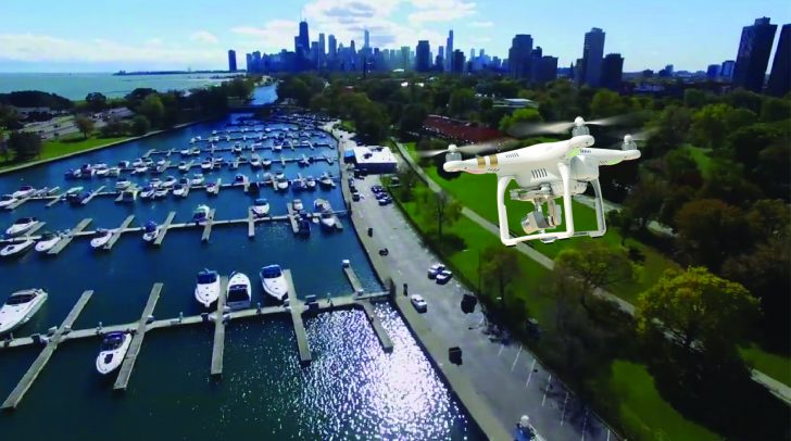 Drone video productions chicago