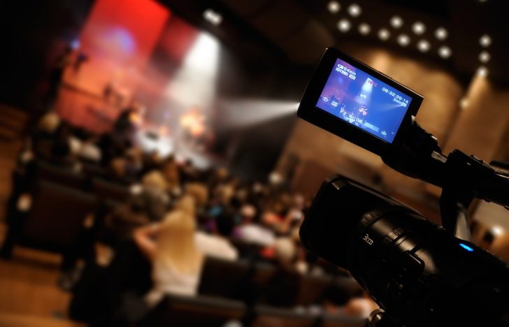 Live steaming video